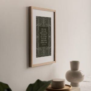 Christian customisable hymn prints by Leysa Flores Design
