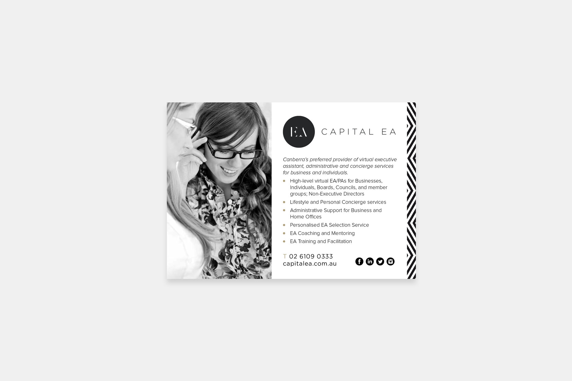 Capital EA branding by Leysa Flores