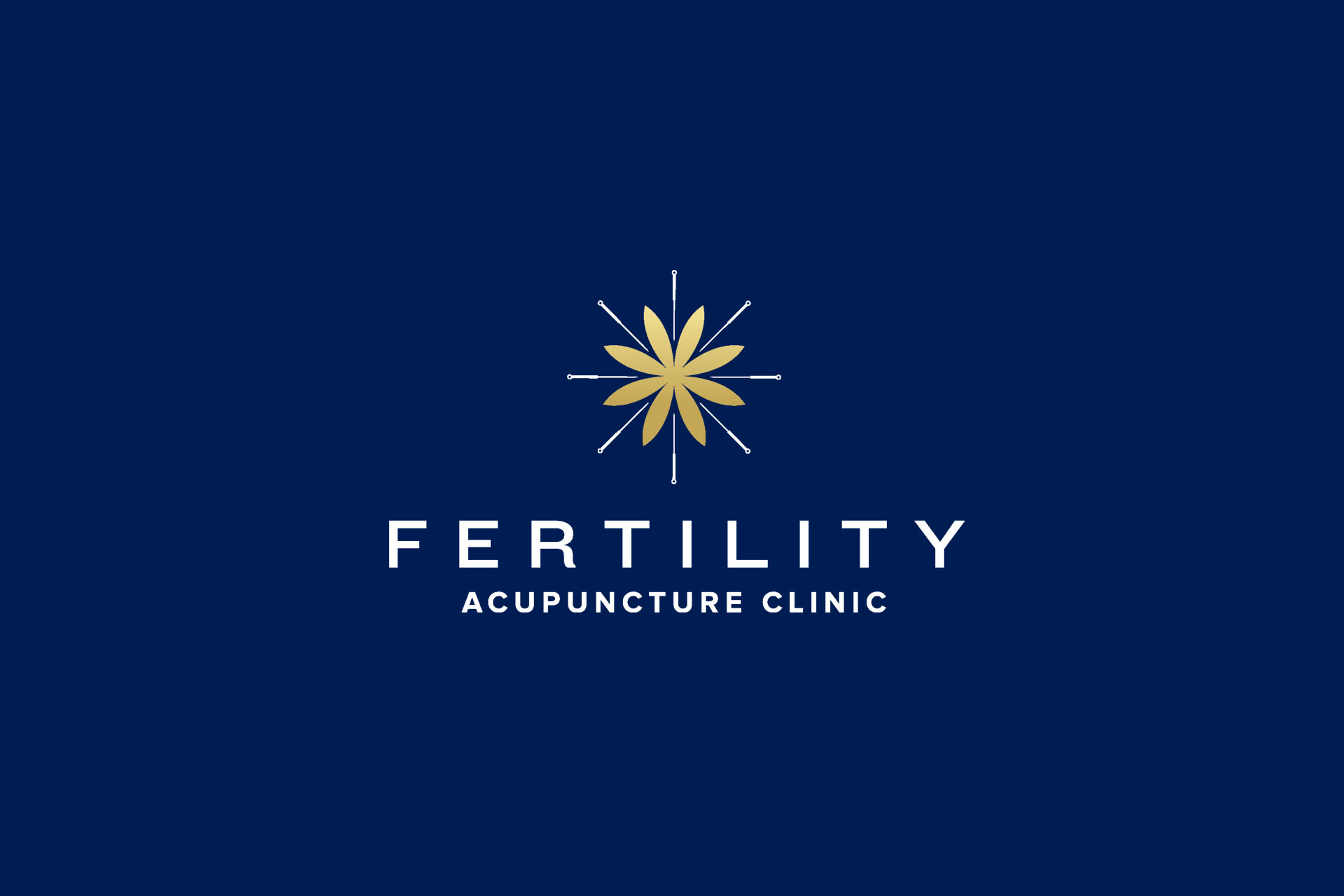 Fertility Acupuncture Clinic brand identity by Leysa Flores