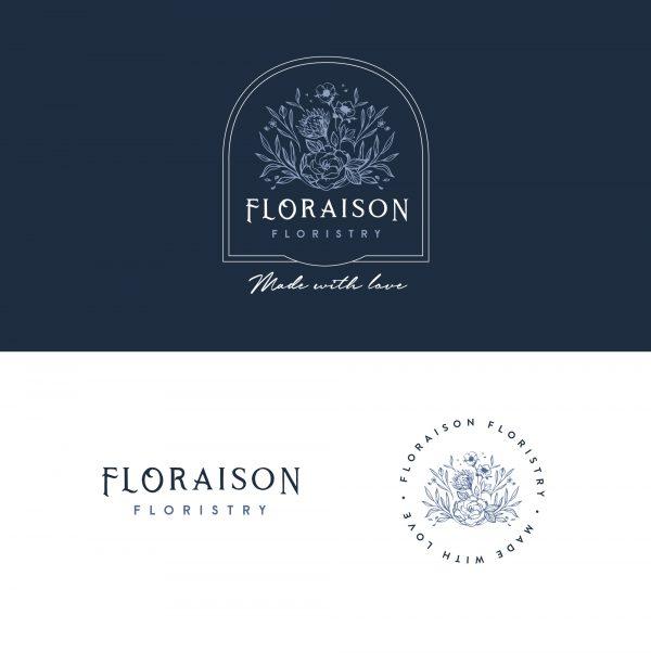 Floraison   Pre-Made Brand   Ready Made Branding   Brand Identity   via Leysa Flores Design