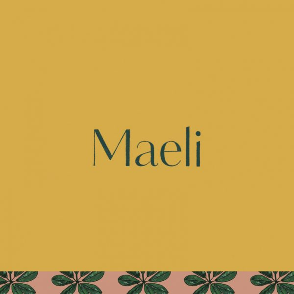 Maeli florist branding by Leysa Flores Design / www.leysafloresdesign.com.au