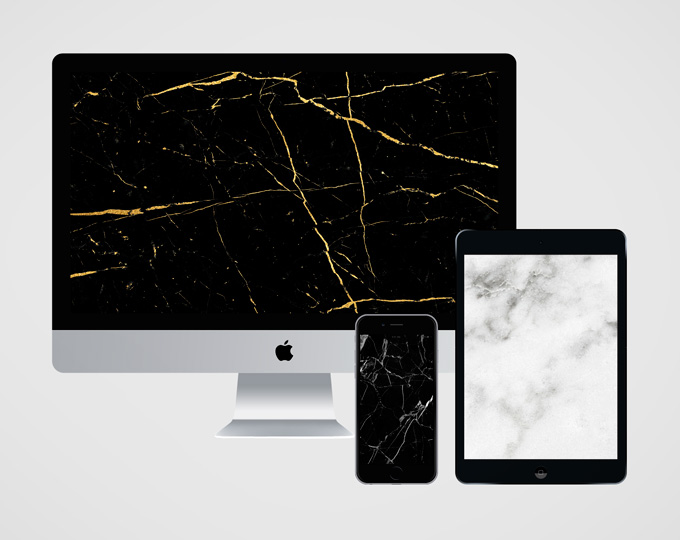 Free marble wallpapers via Leysa Flores Design www.leysafloresdesign.com.au/free-marble-wallpapers