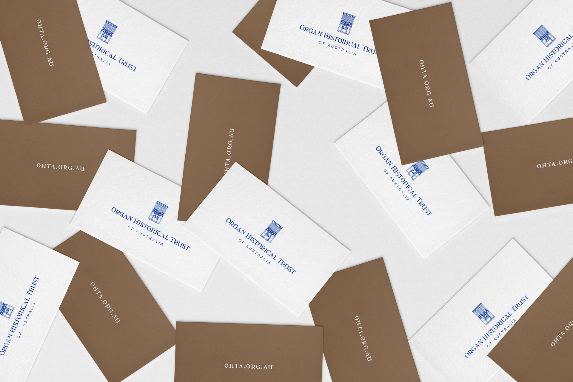 Organ Historical Trust of Australia (OHTA) branding by Leysa Flores