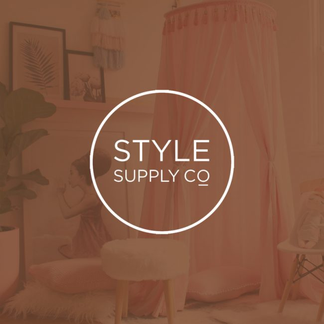 Website design and development for Style Supply Co by Leysa Flores Design / www.leysafloresdesign.com.au